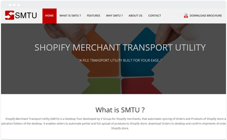SHOPIFY MERCHANT TRANSPORT UITILITY