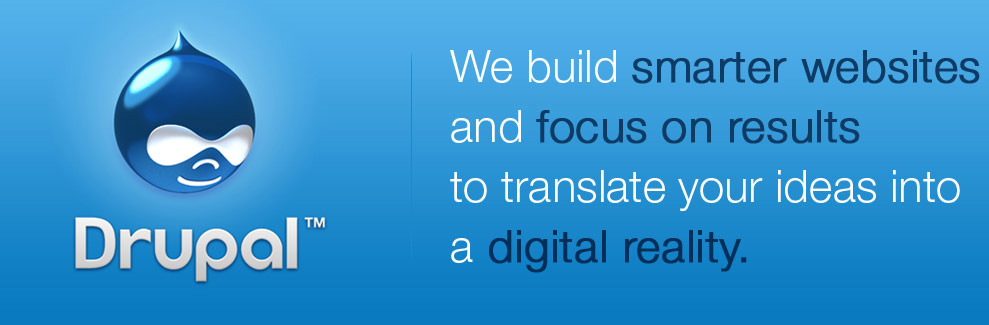 We build smarter websites and focus on results to translate your ideas into a digital reality.