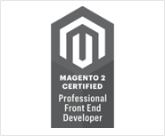 Magento 2 Certified Professional Front End Developer