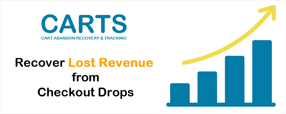 Improve Sales Conversions Against Checkout Drops With Our Cart Abandonment Recovery & Tracking Solution